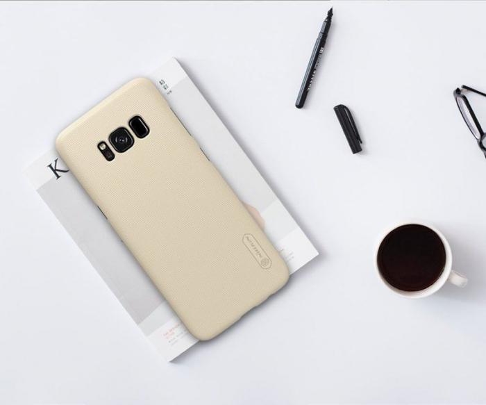 Husa  Samsung Galaxy S8 Nillkin Frosted Shield - gold 1