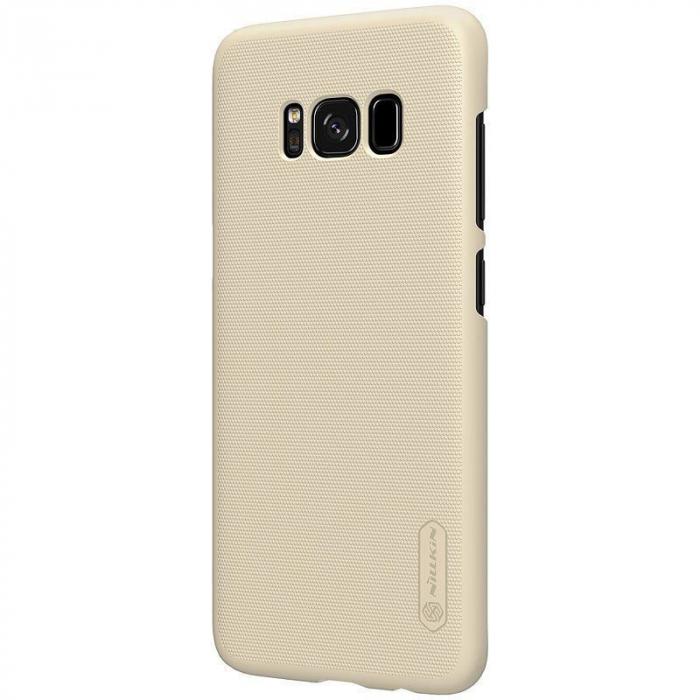 Husa  Samsung Galaxy S8 Nillkin Frosted Shield - gold 3