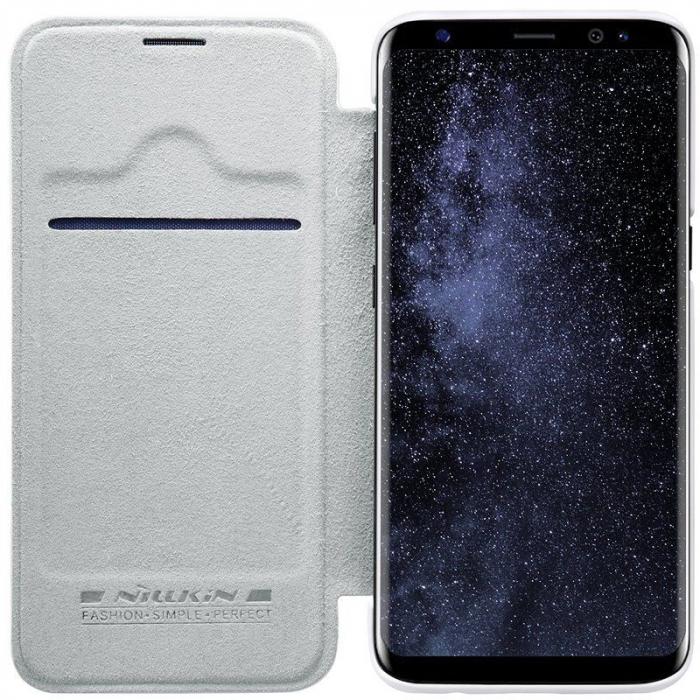 Husa  Samsung Galaxy S8 Nillkin Qin - alb 5