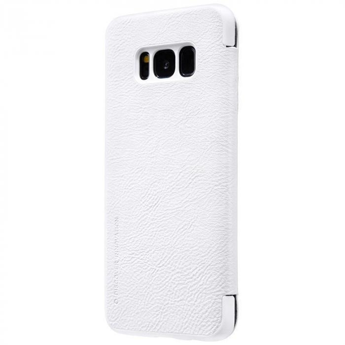 Husa  Samsung Galaxy S8 Nillkin Qin - alb 1