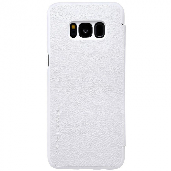 Husa  Samsung Galaxy S8 Nillkin Qin - alb 4