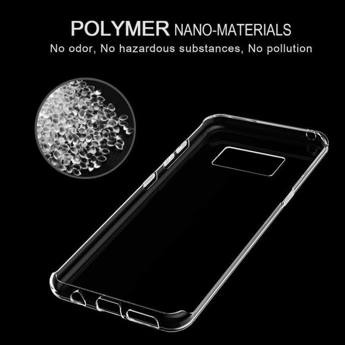 Husa Samsung Galaxy S8 Soft TPU 0.8 mm - transparent 6
