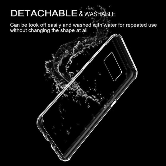 Husa Samsung Galaxy S8 Soft TPU 0.8 mm - transparent 3