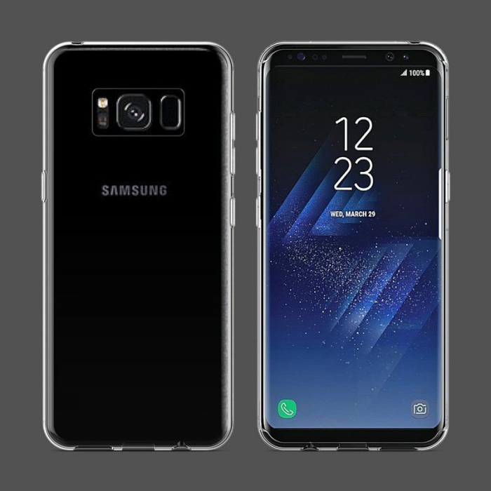 Husa Samsung Galaxy S8 Soft TPU 0.8 mm - transparent 2
