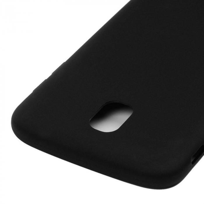 Husa  Samsung J7 2017  Silicon Matte TPU extra slim - negru 4