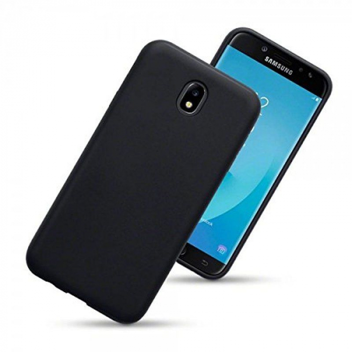 Husa  Samsung J7 2017  Silicon Matte TPU extra slim - negru 1