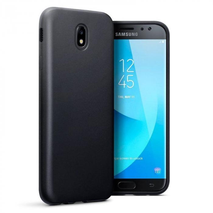 Husa  Samsung J7 2017  Silicon Matte TPU extra slim - negru 0