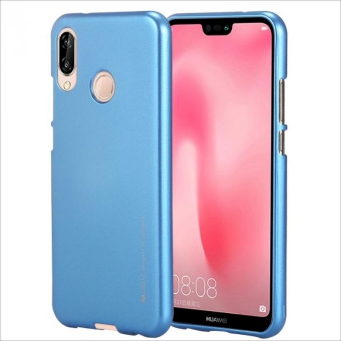 Husa   Silicon Huawei P20 Lite Goospery Mercury i-Jelly - albastru 0