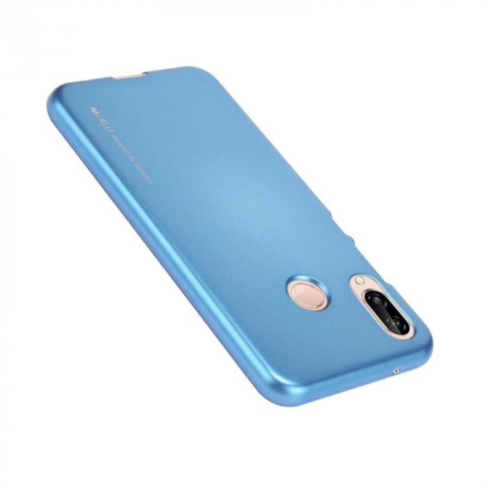 Husa   Silicon Huawei P20 Lite Goospery Mercury i-Jelly - albastru 1