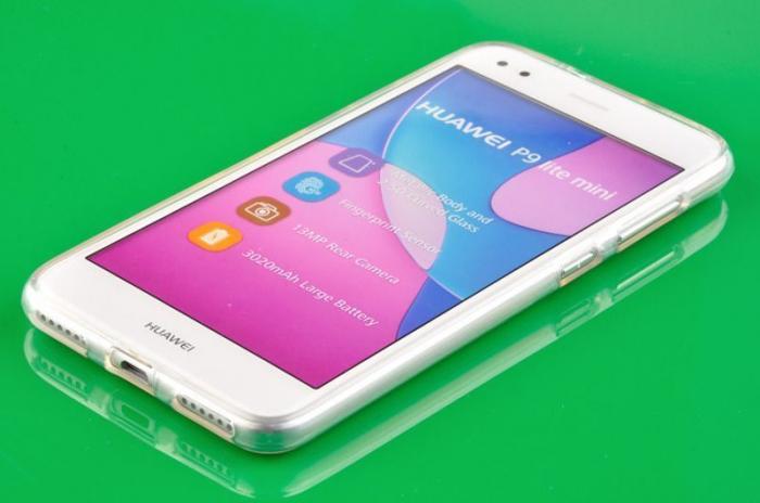 Husa Silicon Huawei P9 Lite Mini Goospery Mercury Jelly Case - transparent 2