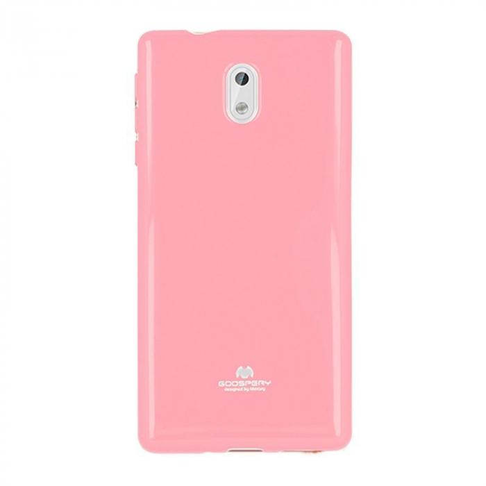 Husa  Nokia 3 Goospery Mercury Jelly Case Silicon - roz 0
