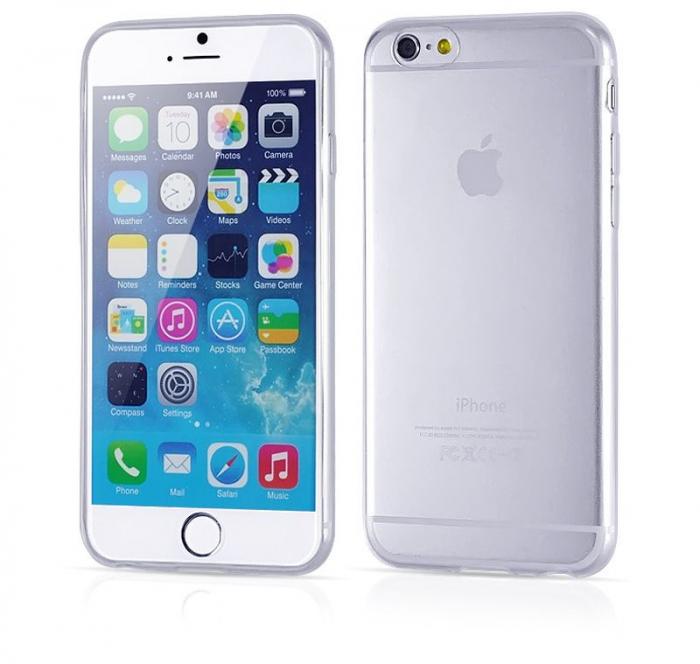 Husa iPhone 6 / iphone 6s Silicon Ultra Thin TPU 0,5 mm - transparent 0