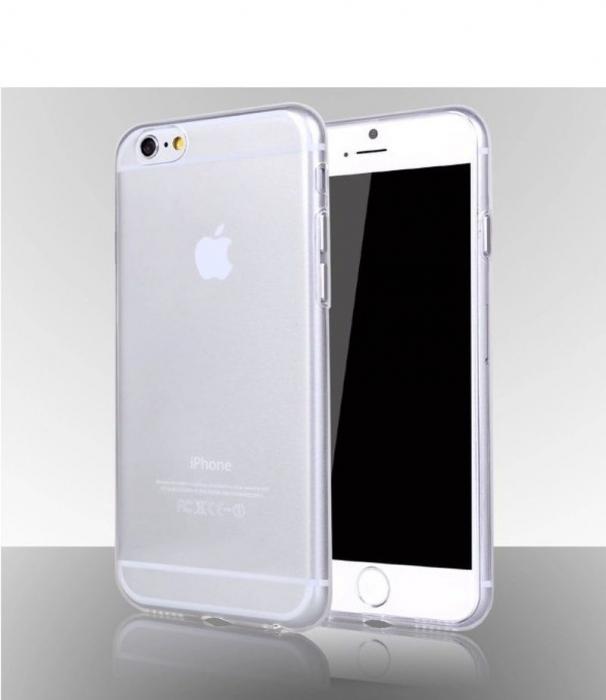 Husa iPhone 6 / iphone 6s Silicon Ultra Thin TPU 0,5 mm - transparent 2