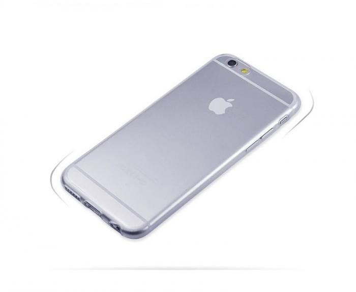 Husa iPhone 6 / iphone 6s Silicon Ultra Thin TPU 0,5 mm - transparent 1