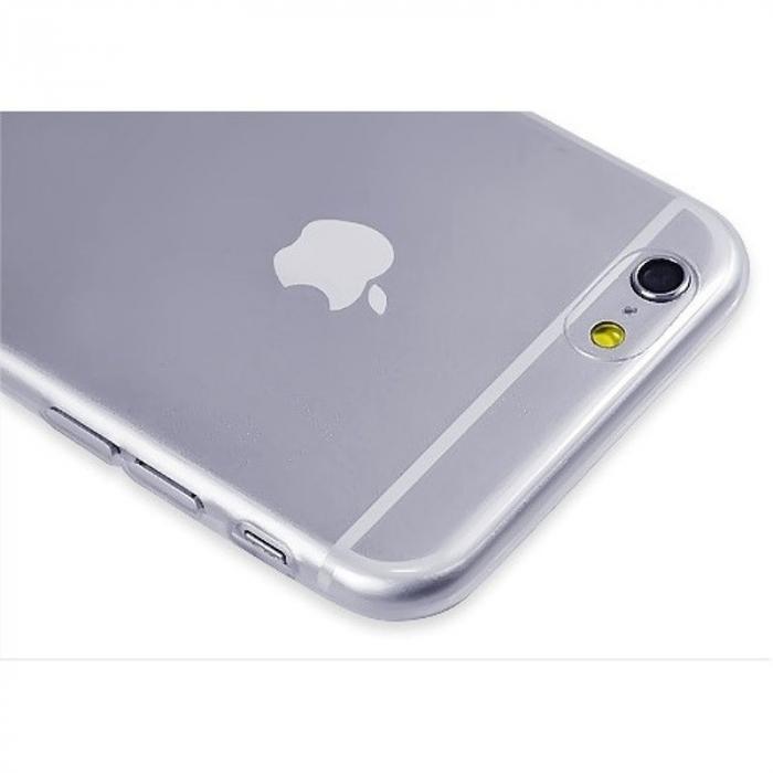 Husa iPhone 6 / iphone 6s Silicon Ultra Thin TPU 0,5 mm - transparent 3