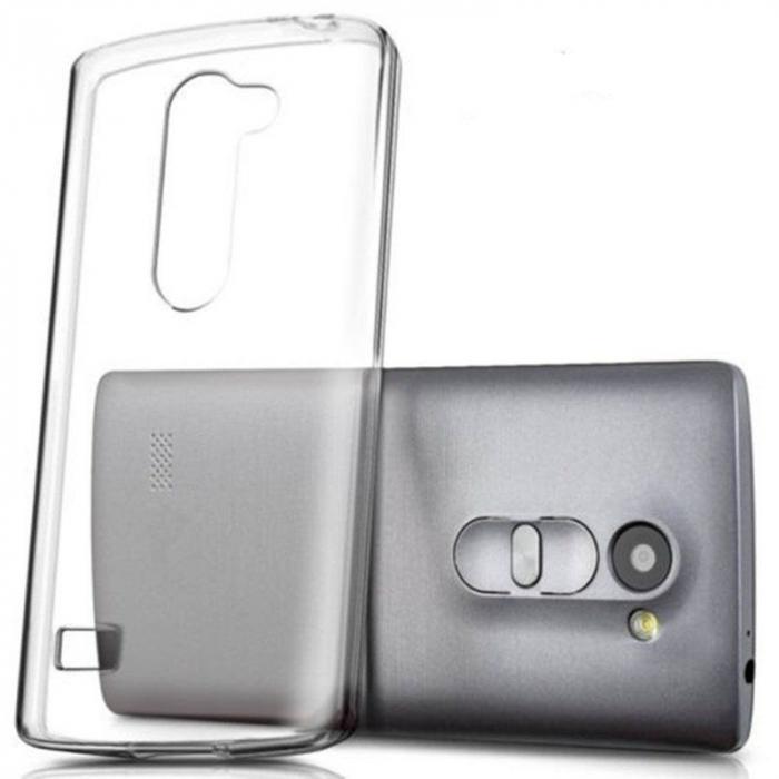 Husa LG Leon Silicon TPU Extra Slim 0.5 mm - transparent 1