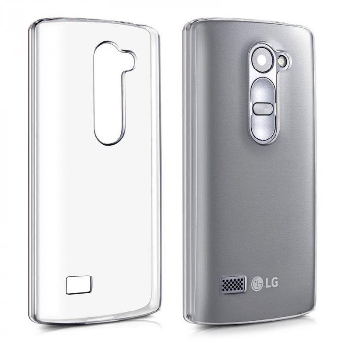 Husa LG Leon Silicon TPU Extra Slim 0.5 mm - transparent 0