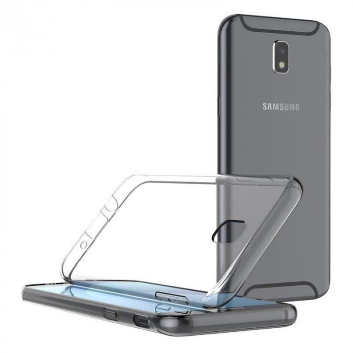 Husa   Samsung Galaxy J7 2017 Silicon TPU extra slim 0.5 mm  - transparent 1