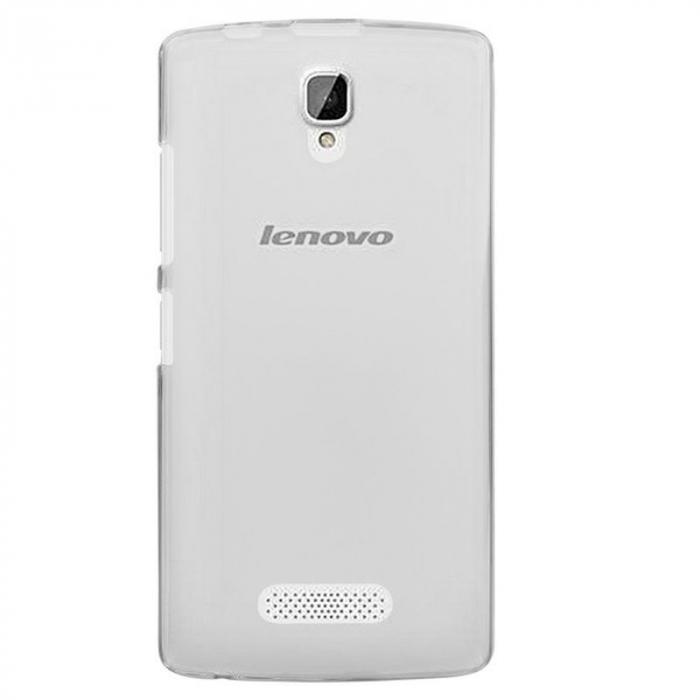 Husa Lenovo A2010 Silicon TPU Extra Slim 0.5mm - transparent 0
