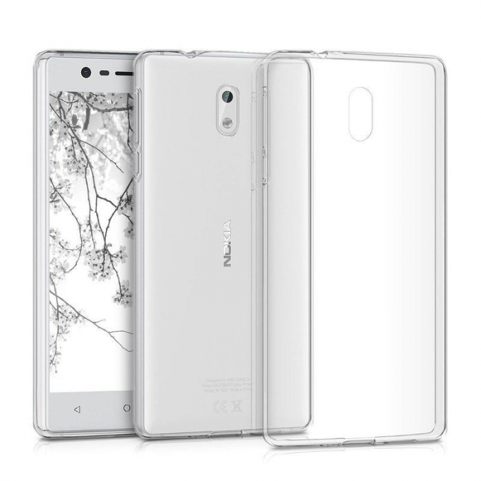 Husa  Nokia 3 Silicon TPU extra slim 0.5 mm - transparent 2