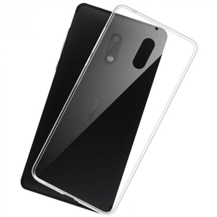 Husa  Nokia 3 Silicon TPU extra slim 0.5 mm - transparent 1