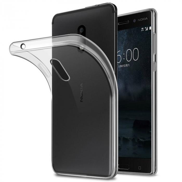 Husa  Nokia 3 Silicon TPU extra slim 0.5 mm - transparent 0