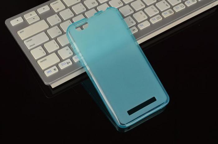 Husa LENOVO A2020 Vibe C silicon TPU - albastru [2]