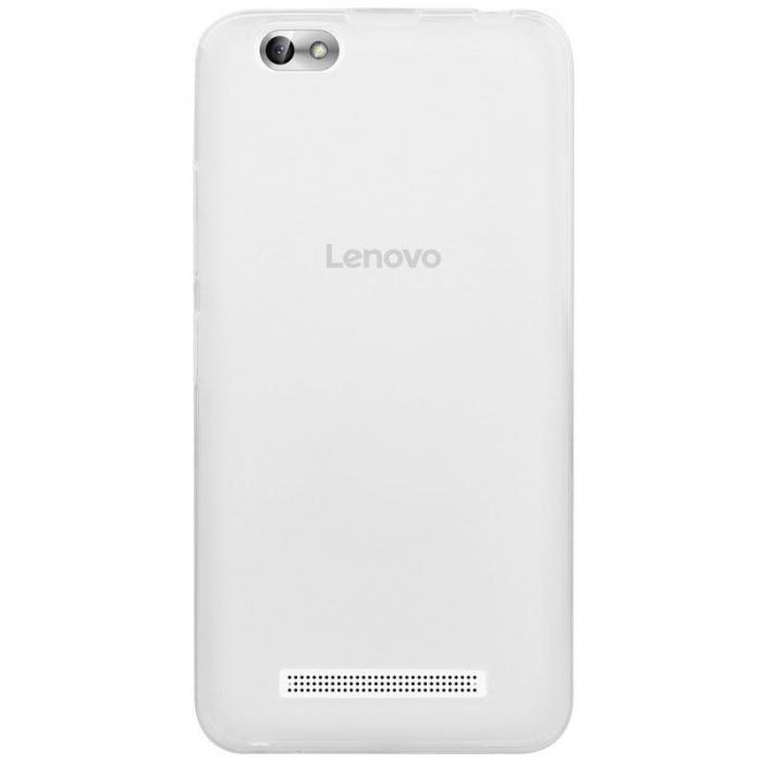 Husa LENOVO A2020  Vibe C silicon TPU - transparent 3