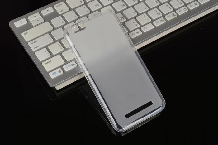 Husa LENOVO A2020  Vibe C silicon TPU - transparent 1