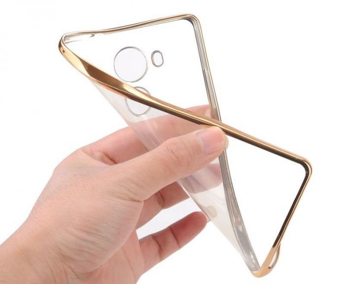 Husa Silicon TPU Plating Ultra Thin Huawei Mate 8 - rose gold  8