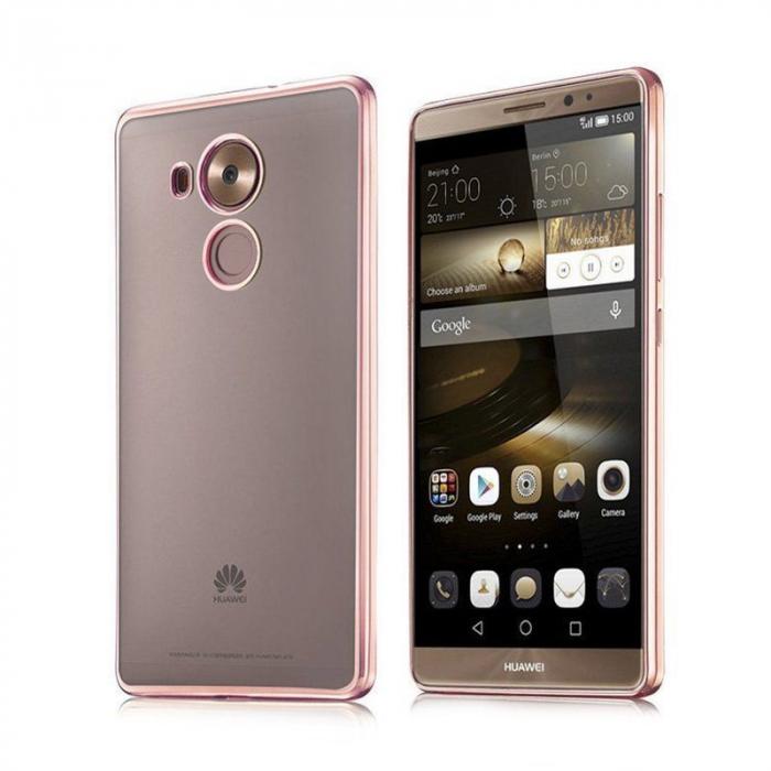 Husa Silicon TPU Plating Ultra Thin Huawei Mate 8 - rose gold  0