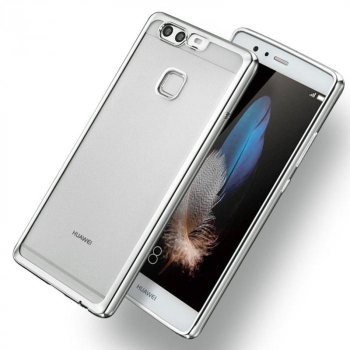 Husa Silicon TPU Plating Ultra Thin Huawei P9 - argintiu 1