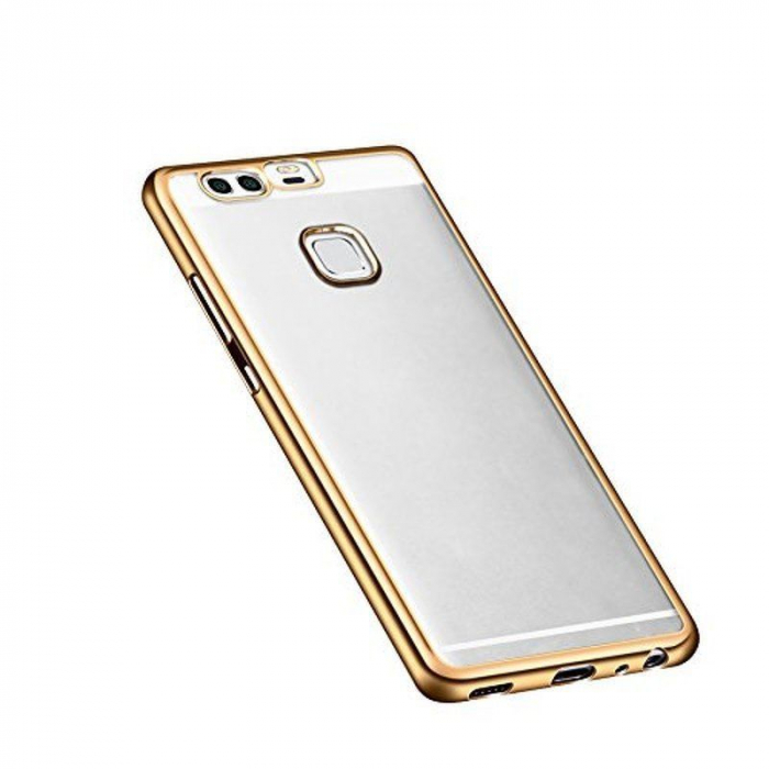 Husa Silicon TPU Plating Ultra Thin Huawei P9 - gold 1