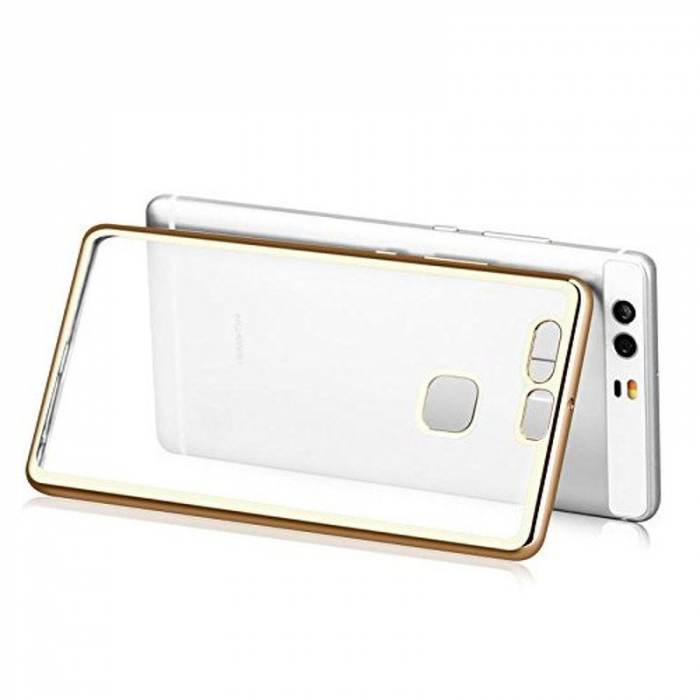 Husa Silicon TPU Plating Ultra Thin Huawei P9 - gold 6