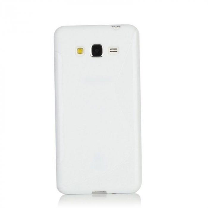 Husa silicon TPU Samsung Grand Prime G530 - alb 0