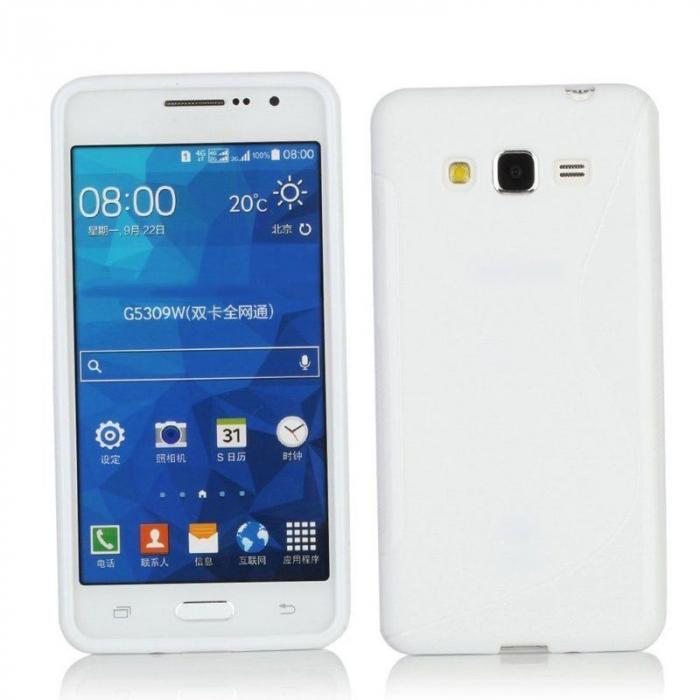 Husa silicon TPU Samsung Grand Prime G530 - alb 2