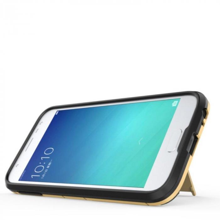 Husa  Samsung Galaxy J7 (2017) Slim Armour Hybrid Stand - rosu 2