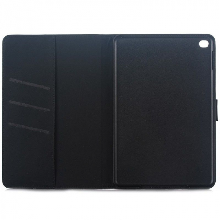 Husa iPad Mini 4 Stil Carte Piele Eco - maro 3