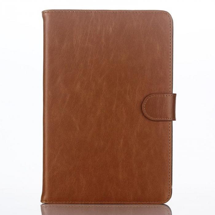 Husa iPad Mini 4 Stil Carte Piele Eco - maro 1