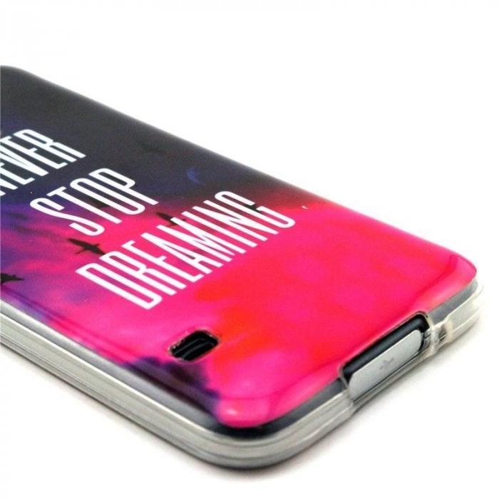 Husa TPU Never Stop Dreaming Samsung Galaxy S5 3