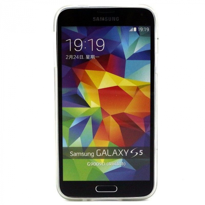 Husa TPU Live the Life Samsung Galaxy S5 3