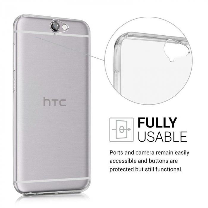Husa Htc One A9 TPU Ultra Thin - transparent 2