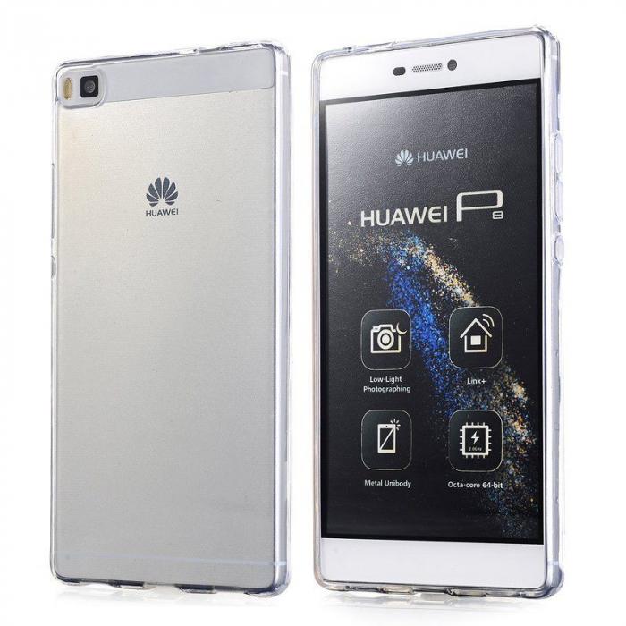 Husa TPU Ultra Thin Huawei P8 - transparent 5