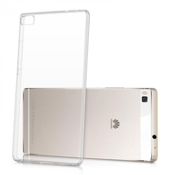 Husa TPU Ultra Thin Huawei P8 - transparent 0