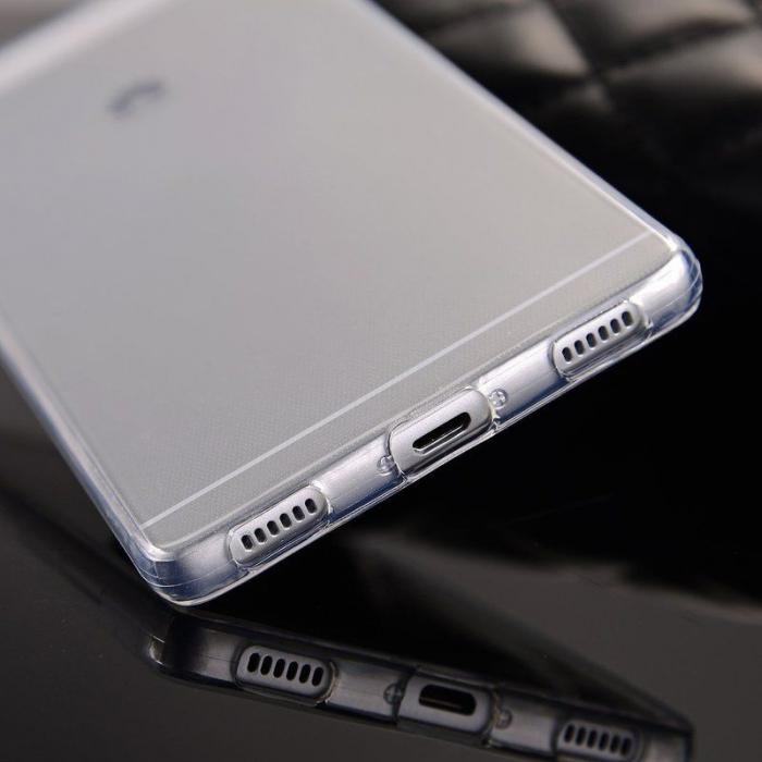 Husa TPU Ultra Thin Huawei P8 - transparent 4
