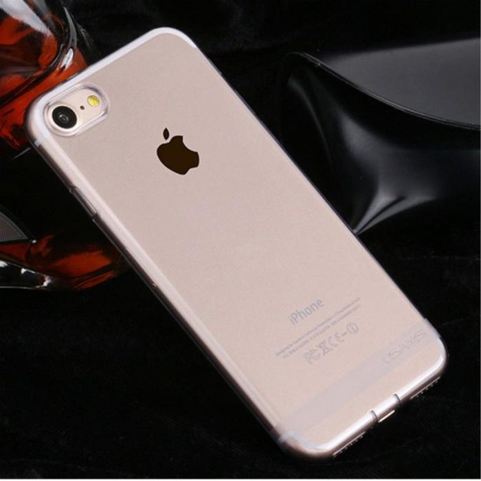 Husa  Iphone 7 - Usams Ultra Thin Soft TPU - argintiu transparent 1