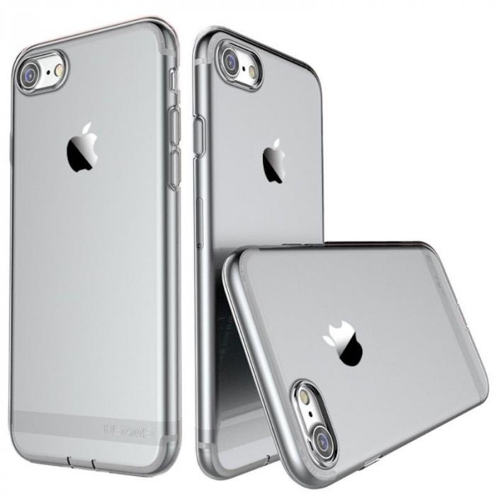 Husa  Iphone 7 - Usams Ultra Thin Soft TPU - argintiu transparent 0