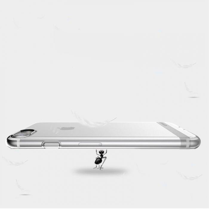 Husa  Iphone 7 - Usams Ultra Thin Soft TPU - argintiu transparent 2