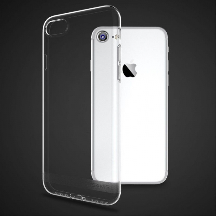Husa  Iphone 7 - Usams Ultra Thin Soft TPU - transparent 1