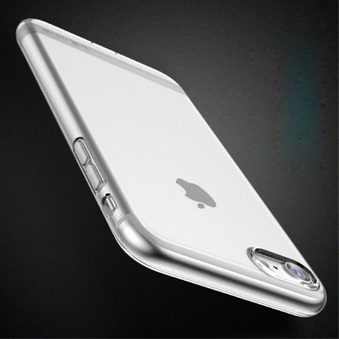Husa  Iphone 7 - Usams Ultra Thin Soft TPU - transparent 4
